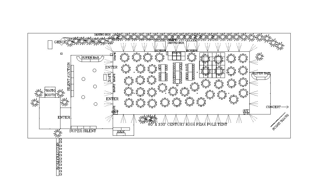 CAD/Event Layout