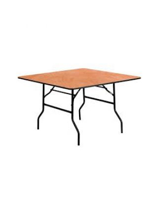 4' Square Table