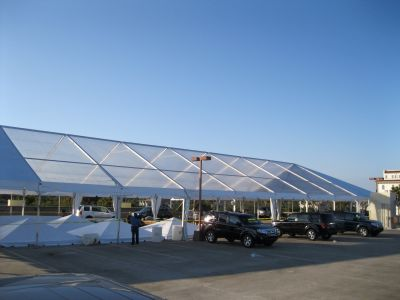 50x105 Clear Top Tent